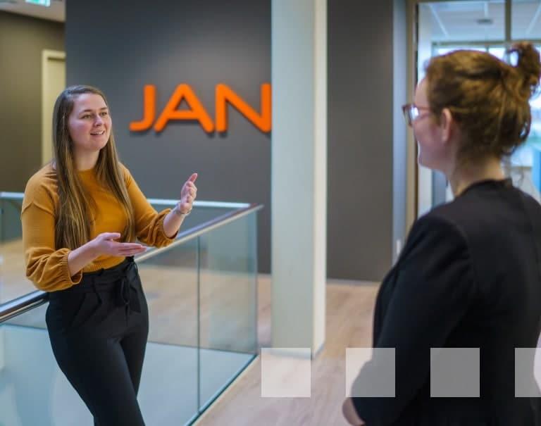 De diensten van JAN© - Personeel